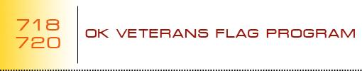 OK Veterans Flag Program logo