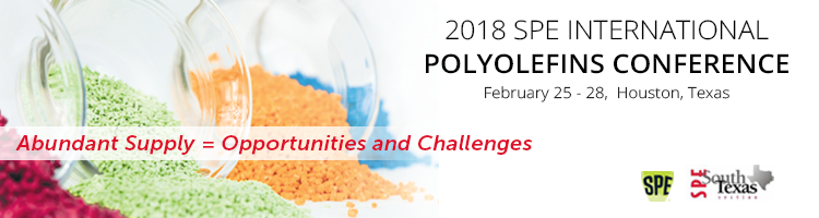 "Polyolefins 2018 ""Abundant Supply=Opportunities and Challenges"""