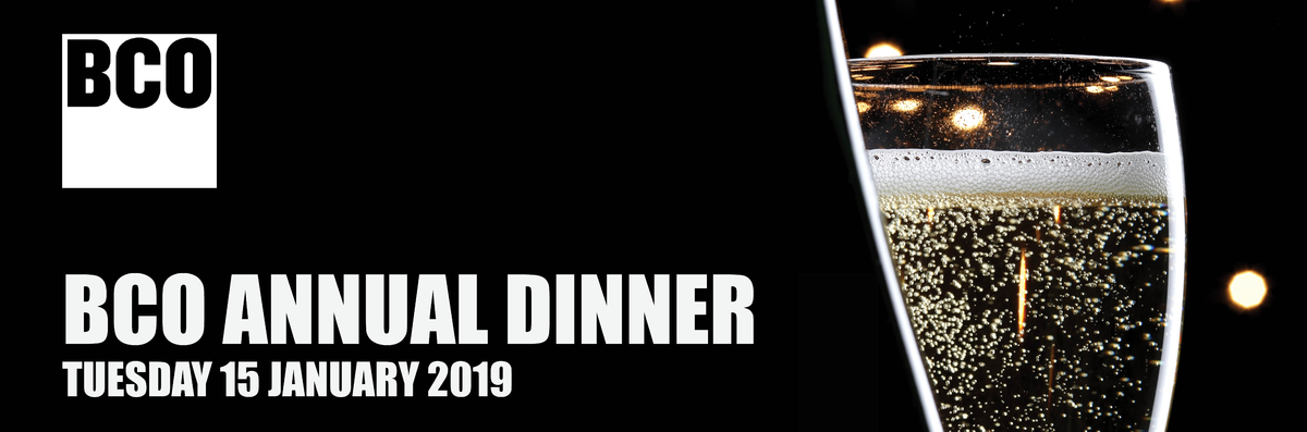 BCO Annual Dinner 2019