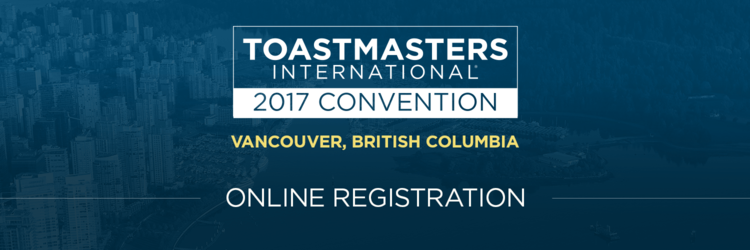 2017 Toastmasters International Convention