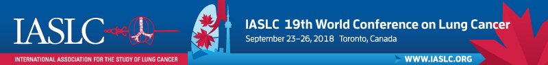 IASLC 19th World Conference on Lung Cancer