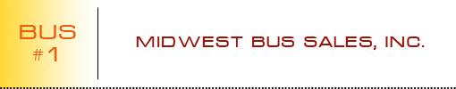 Midwest Bus Sales, Inc. logo