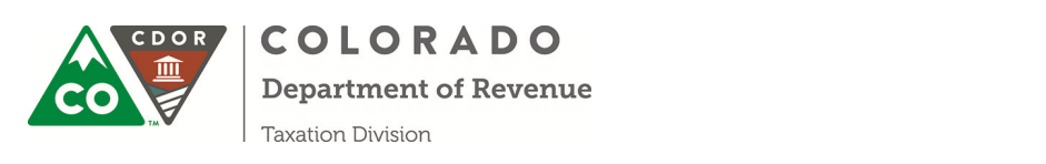 Colorado Department of Revenue Event Calendar