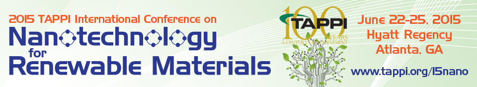 2015 International Conference on Nanotechnology for Renewable Materials