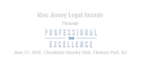 2018 New Jersey Legal Awards