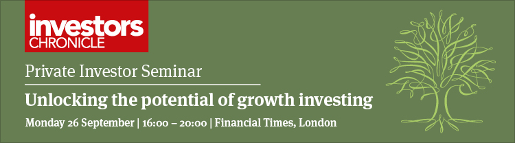 Private Investor Seminar - Unlocking the potential of growth investing