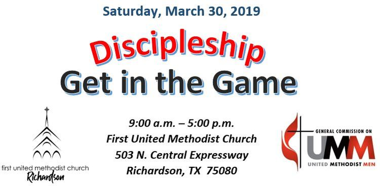 Discipleship Get In the Game
