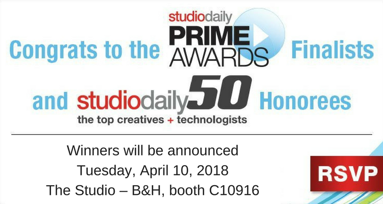 StudioDaily Awards Presentation: Prime Awards & Studio50