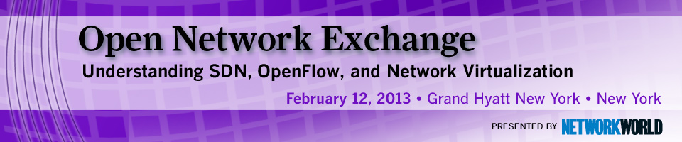 Open Network Exchange: SDN, OpenFlow and Network Virtualization