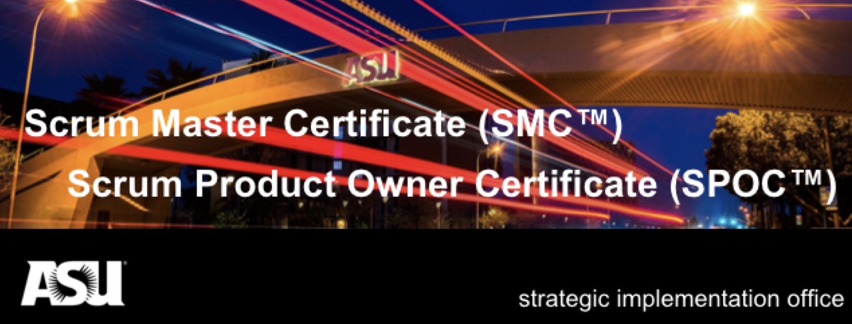 Scrum Product Owner and Scrum Master Certificate Workshop