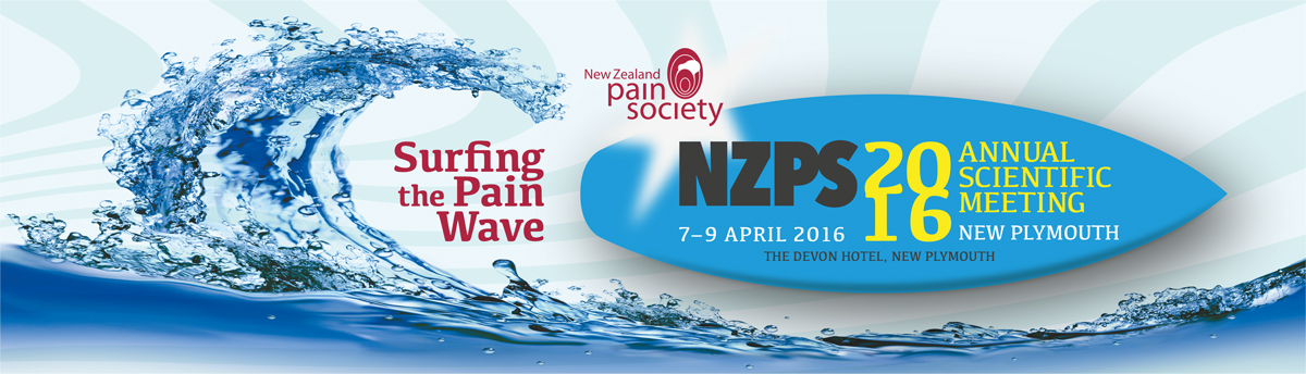 NZ Pain Society 2016 Conference