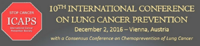 ICAPS 10TH International Conference On Lung Cancer Prevention