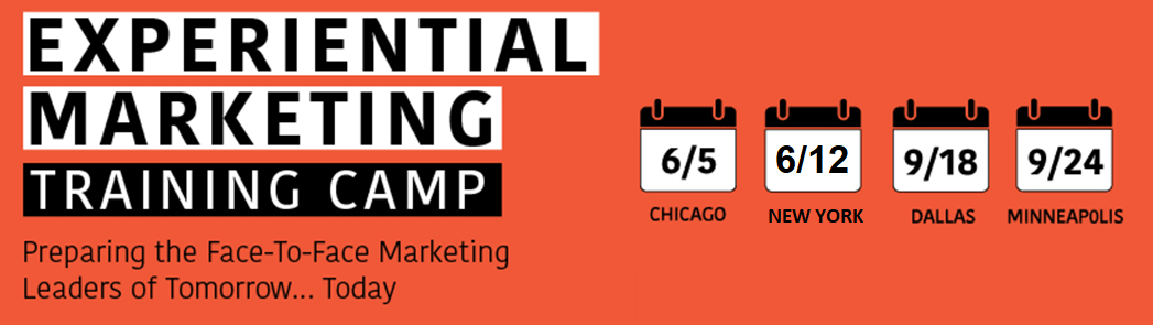 Experiential Marketing Training Camp 2019