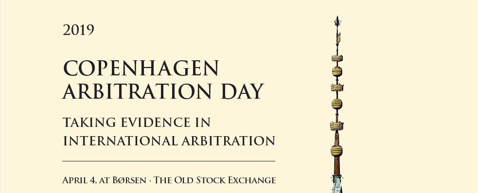Copenhagen Arbitration Day, 4 April 2019