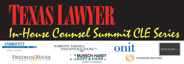 2015 In-House Counsel Summit (Dallas) 09.17.15