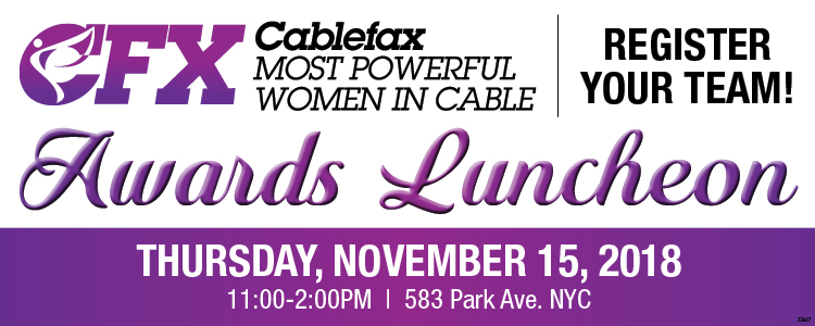 Cablefax Most Powerful Women Luncheon 2018