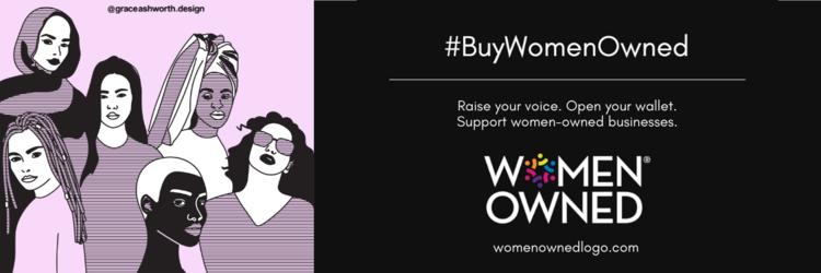 Buy Women Owned Banner
