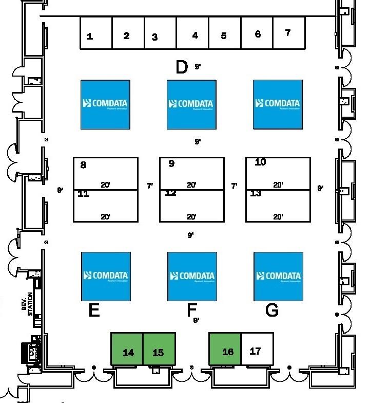 D Exhibition Floor Plan : Exhibit hall map