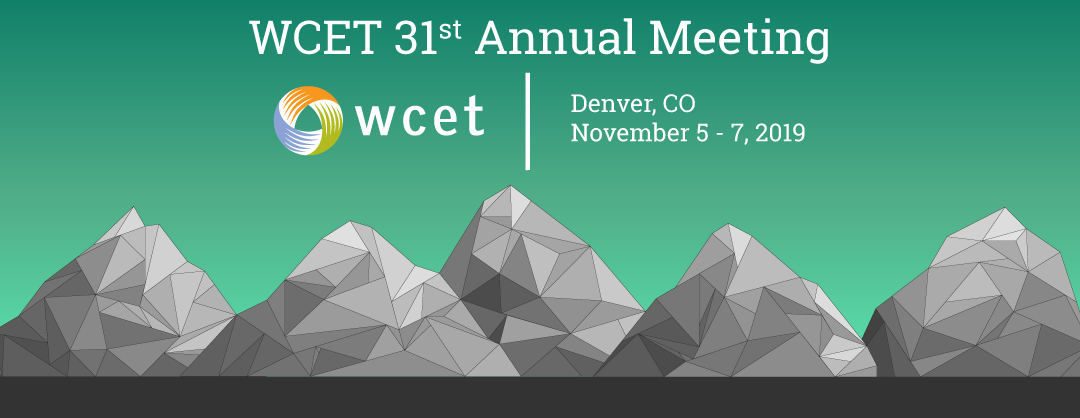 WCET 31st Annual Meeting