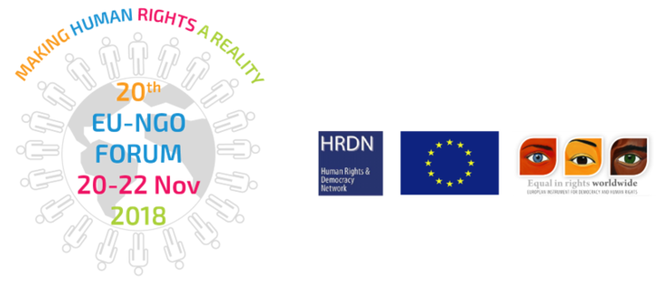 20th EU-NGO Human Rights Forum