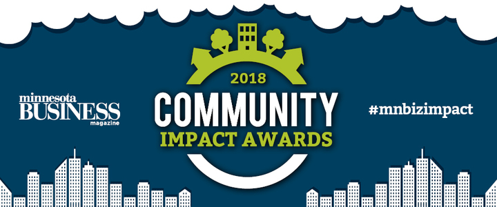 2018 Community Impact Awards by Minnesota Business Magazine