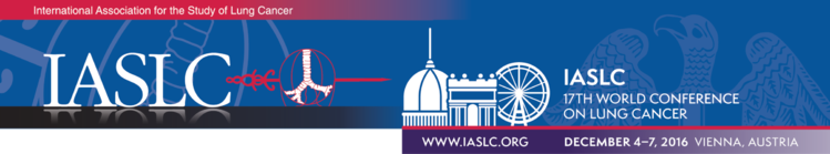 IASLC WCLC 2016 Evaluation
