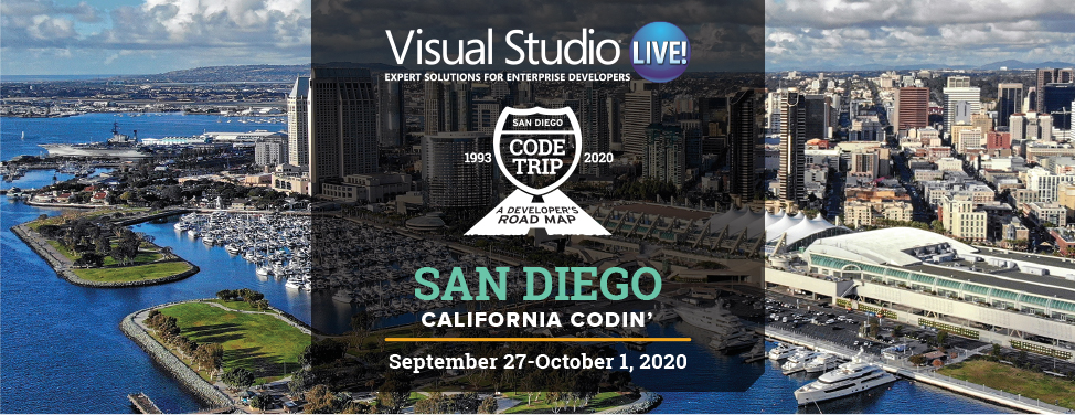 Visual Studio Live! San Diego 2020