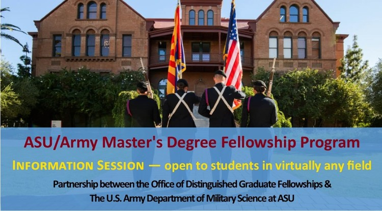 ASU/Army Master's Degree Fellowship Program Information Session