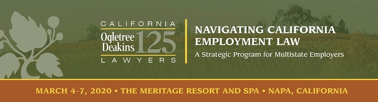 Navigating California Employment Law 2020