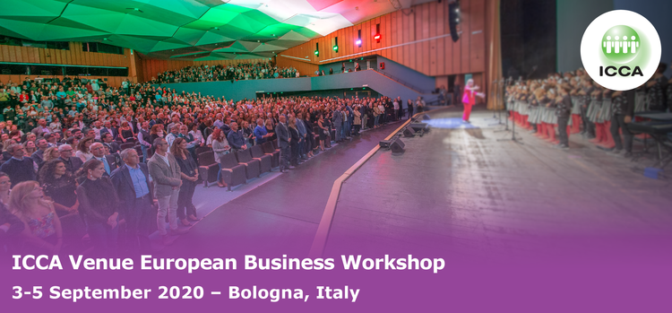 ICCA Sector Venue European Business Workshop, Bologna, Italy