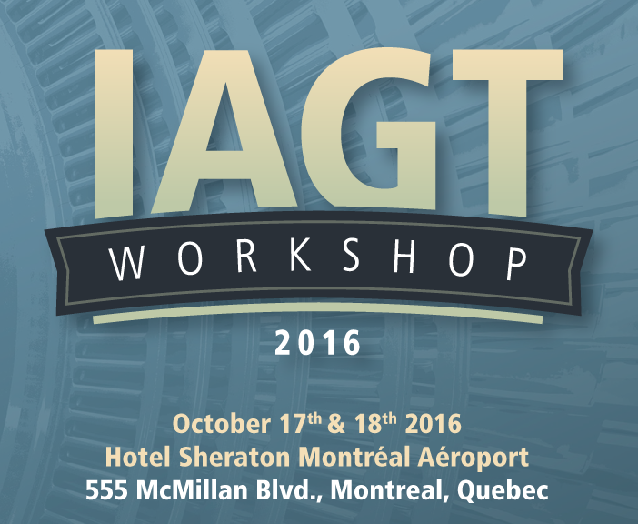 IAGT Workshop 2016 - Gas Turbine Contributions to Cleaner