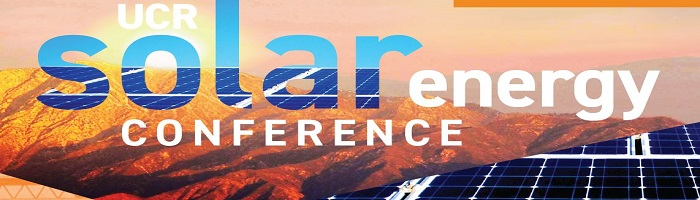 UCR 2019 Solar Energy Conference