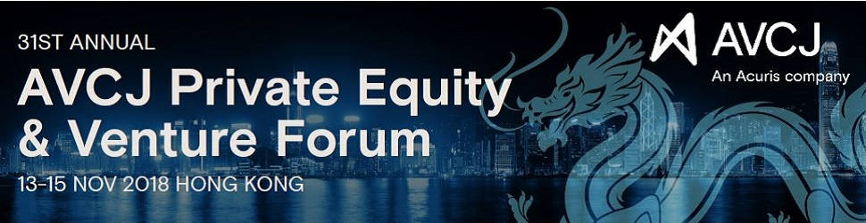 AVCJ Private Equity & Venture Forum - Hong Kong 2018