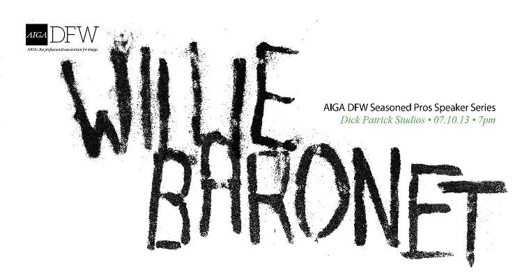 AIGA DFW Seasoned Pros 4: Summer - Willie Baronet