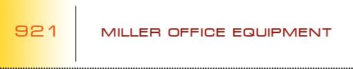 Miller Office Equipment logo