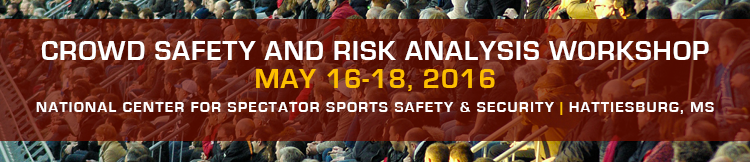 Crowd Safety and Risk Analysis Workshop