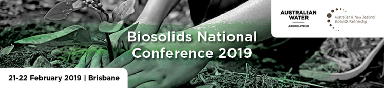 AWA/ANZBP Biosolids National Conference 2019