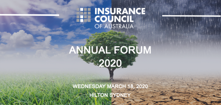Insurance Council of Australia Annual Forum 2020
