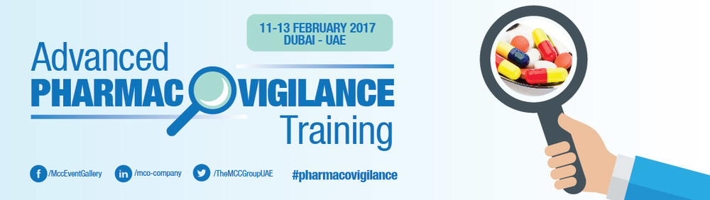 Advanced Pharmacovigilance Training 2017