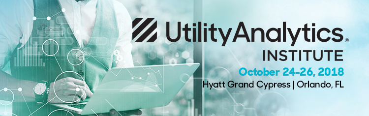 Utility Analytics Week 2018