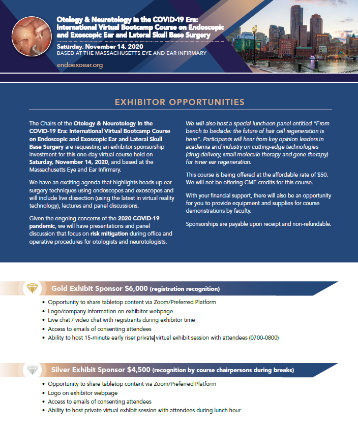 MEEI 2020 Exhibitor Opportunities Image