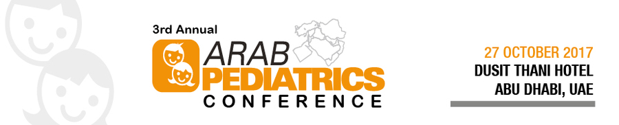3rd Arab Pediatrics Conference 2017_Oct 27, 2017