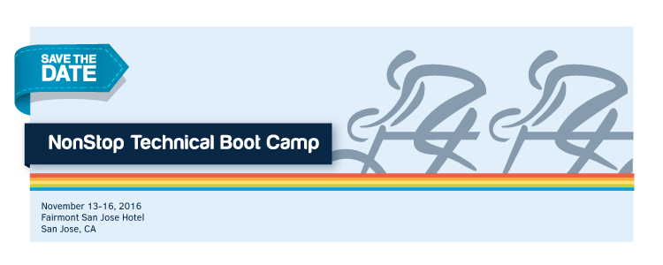 NonStop Technical Boot Camp 2016