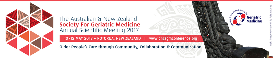 The Australian and New Zealand Society for Geriatric Medicine Annual Scientific Meeting 2017