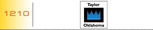 Taylor Oklahoma logo