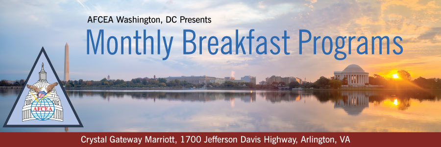 Speakers afcea washington dc march monthly breakfast program thecheapjerseys Image collections