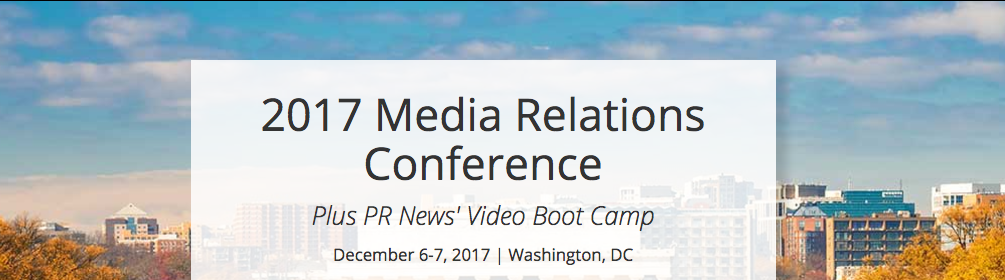 PR News' Media Relations Conference & Video Boot Camp