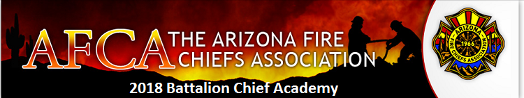 2018 AFCA Battalion Chief Academy