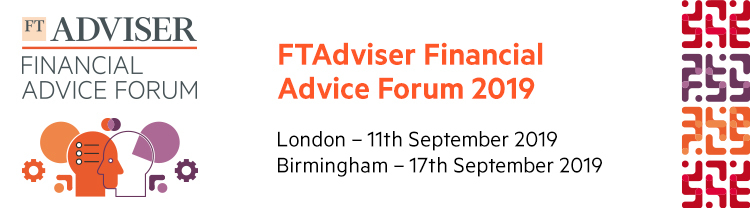 FTAdviser Financial Advice Forum 2019