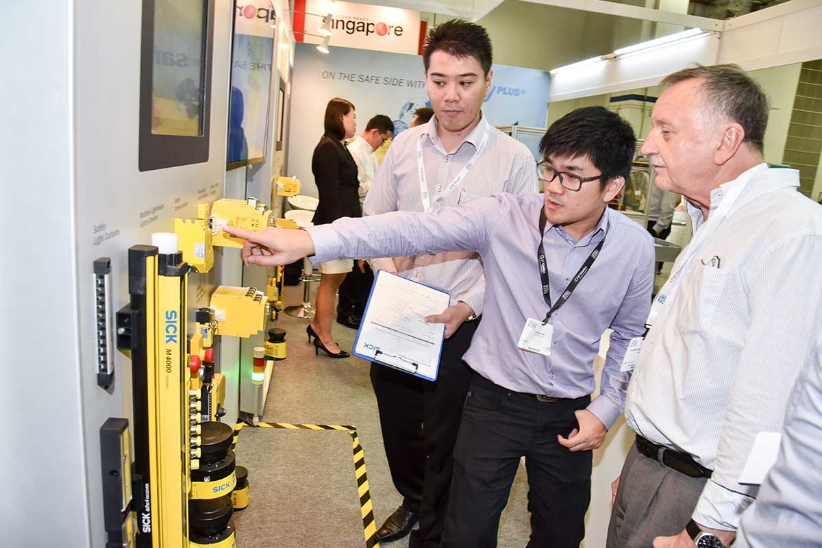 Industrial Robots at Singapore International Robo Expo 2017